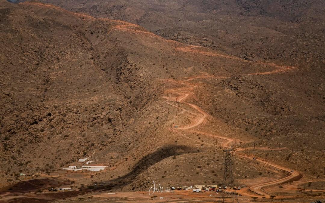 Road to Jebel Yibir