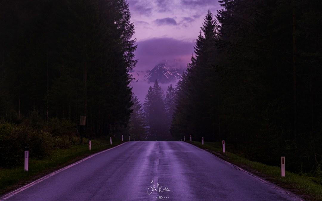 Road to Austrian Alps