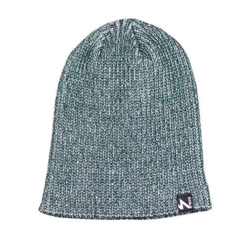 Heather Beanie Green