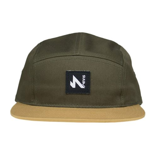 5 panel hat army