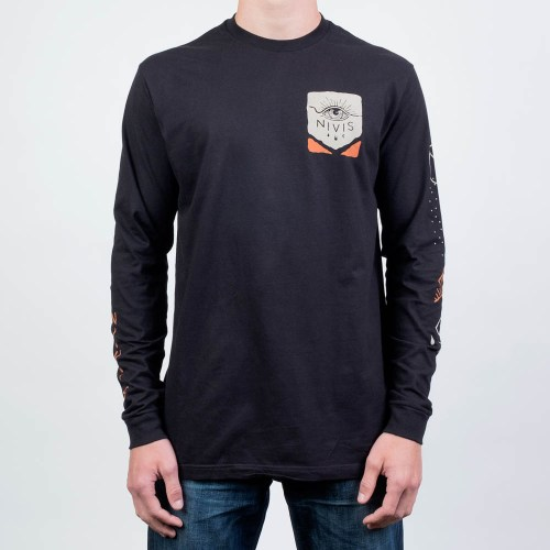 long sleeve vision quest t shirt