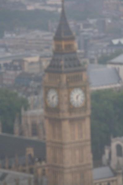 Big Ben - it was a long way away!