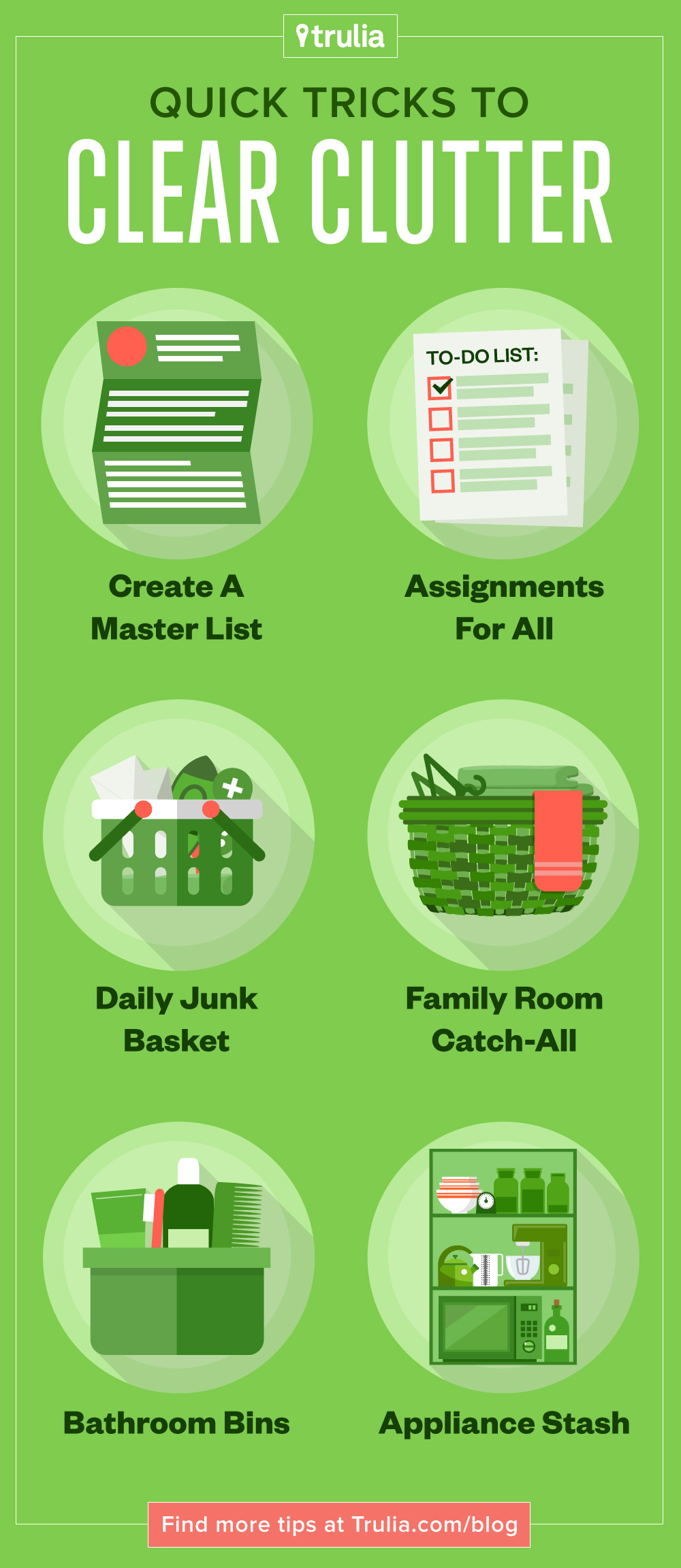June2015-Trulia-8-Quick-Tricks-To-Clear-Clutter-Pinterest