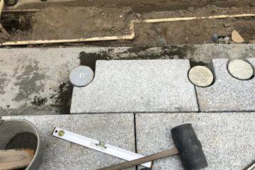石材加工後