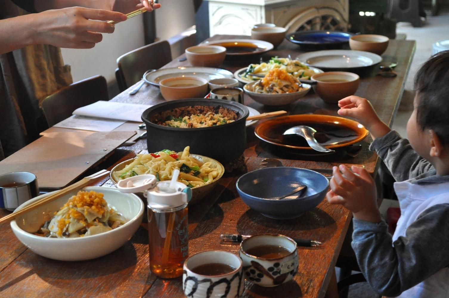 『野菜と豆と雑穀のにわか料理教室vol.69』12月開催