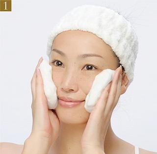 どろあわわ,洗顔方法