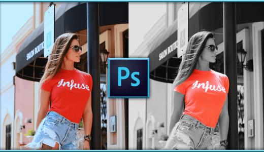 【PhotoShop 初心者】画像を白黒にして一部カラーにする方法【以外に簡単】