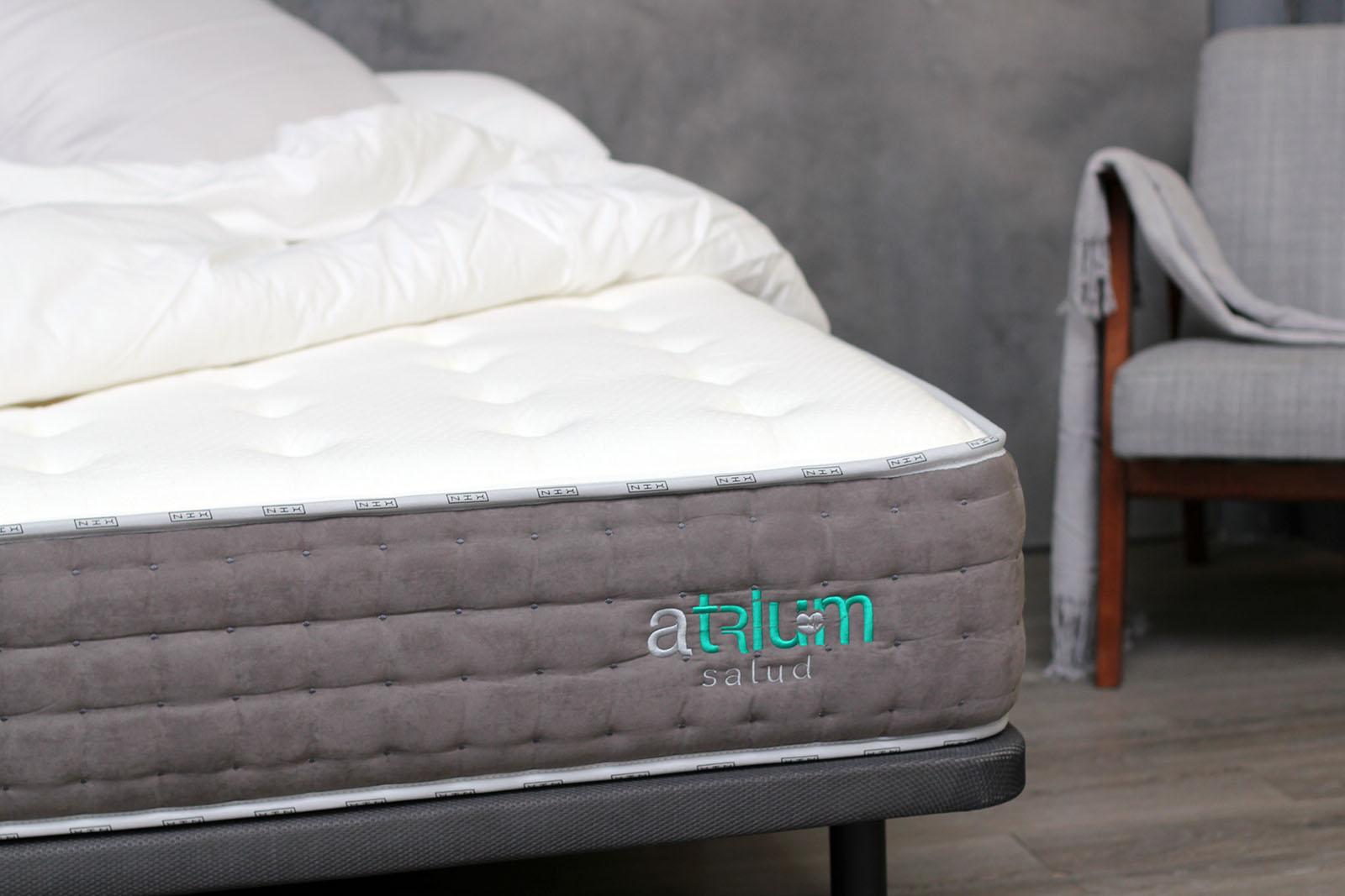 detalle colchón NIX Somnia oblicuo