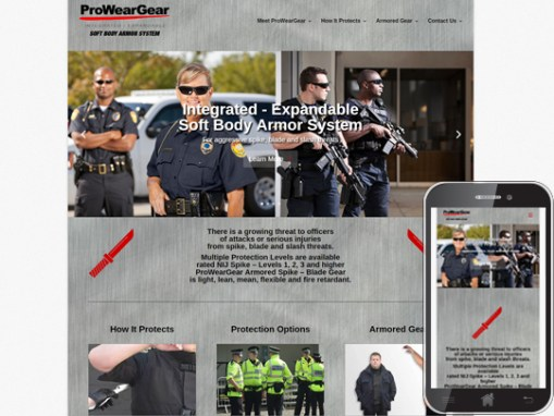 ProWearGear Website & Video