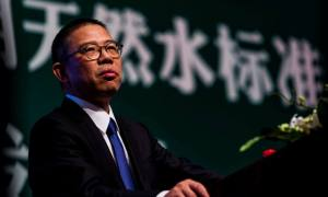 Billionaire bottled water seller to become China's richest