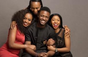 family photo of Yemi Osibajo SAN family