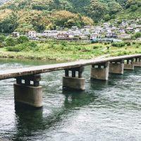 浅尾沈下橋 ⇒ 仁淀川にかかる沈下橋は数あれど、美しさは映画級