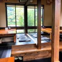 ごはん処滝本 ⇒ 木の香りがしそうなきれいな店内でおいしいランチ