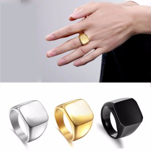 Fashion-Rings-Square-Big-Width-Signet-Rings-24K-Titanium-Steel-man-Finger-Silver-Black-Gold-Men_5