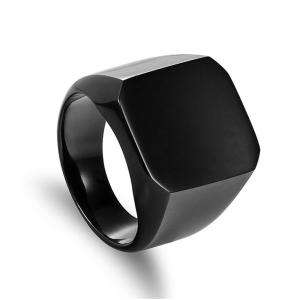 Fashion-Rings-Square-Big-Width-Signet-Rings-24K-Titanium-Steel-man-Finger-Silver-Black-Gold-Men_Black