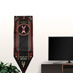 Game-Of-Thrones-Stark-Targaryen-Greyjoy-Lannister-Bolton-House-Families-Flag-Home-Decor-Wolf-Dragon-Polyester_Bolton A007