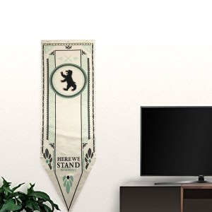 Game-Of-Thrones-Stark-Targaryen-Greyjoy-Lannister-Bolton-House-Families-Flag-Home-Decor-Wolf-Dragon-Polyester_Mormont A001