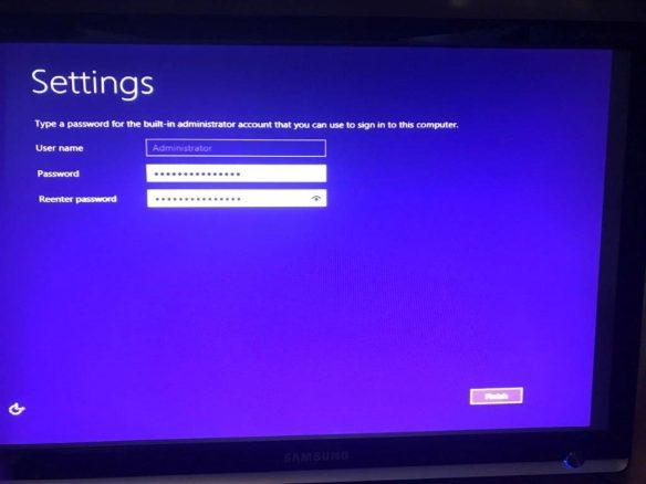 Installasjon Windows Server 2012