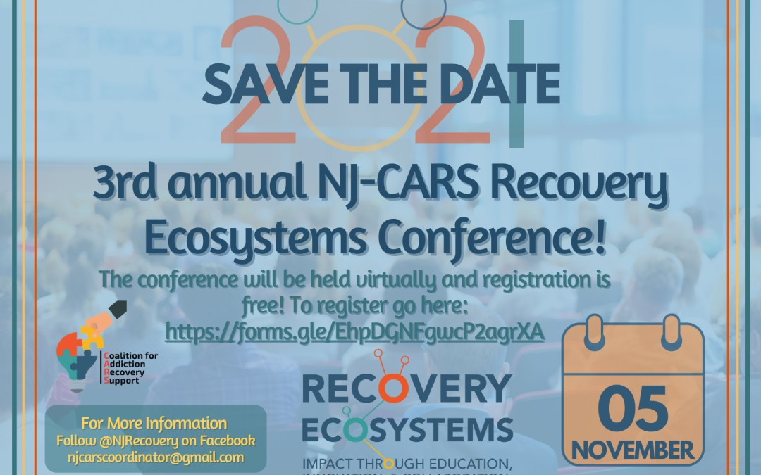 Save the Date! 3rd Annual Recovery Ecosystems Conference