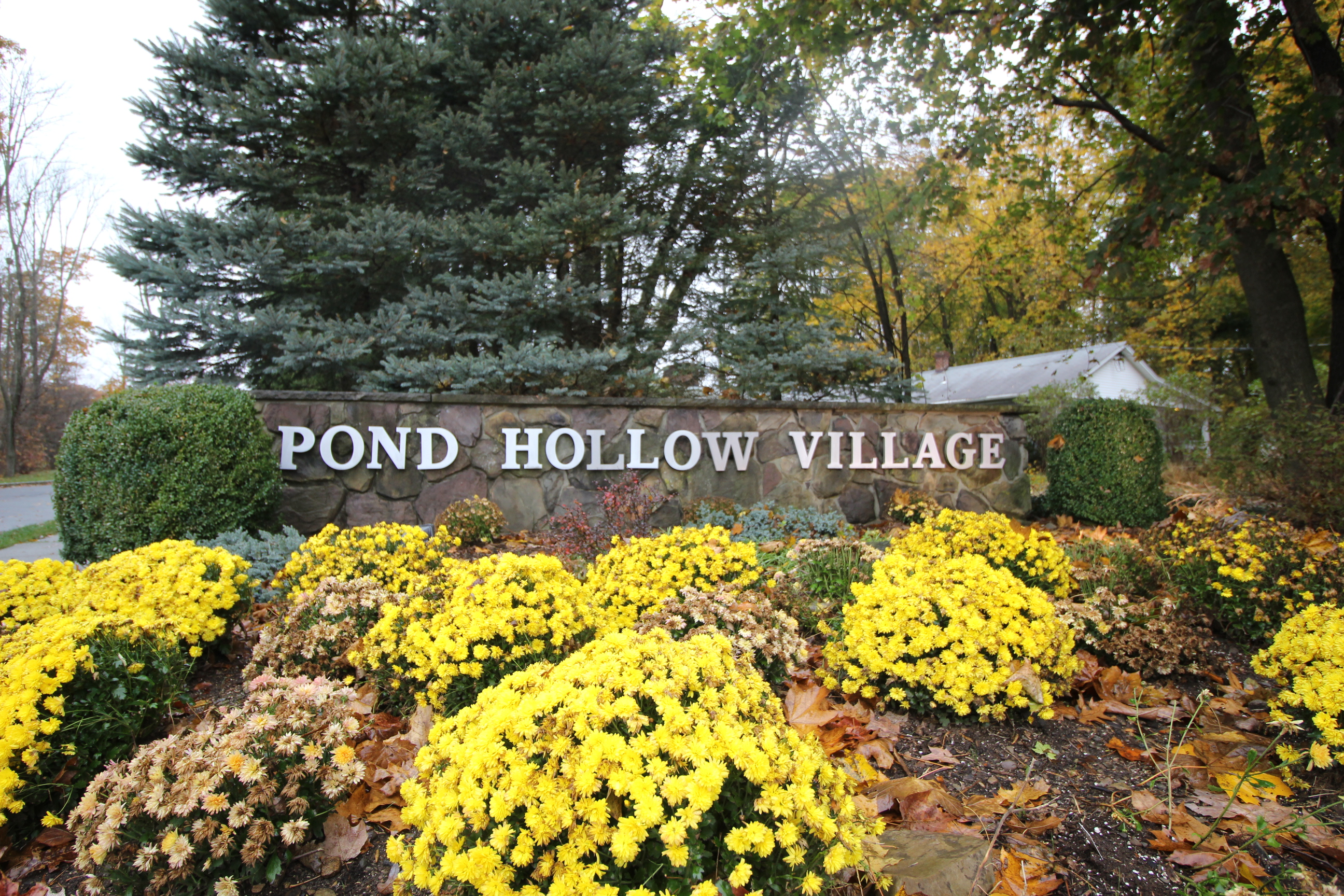 Morris Pond Hollow Condos Sign