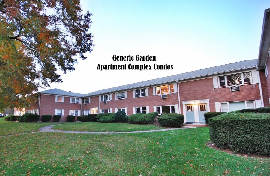 Garden apt type building
