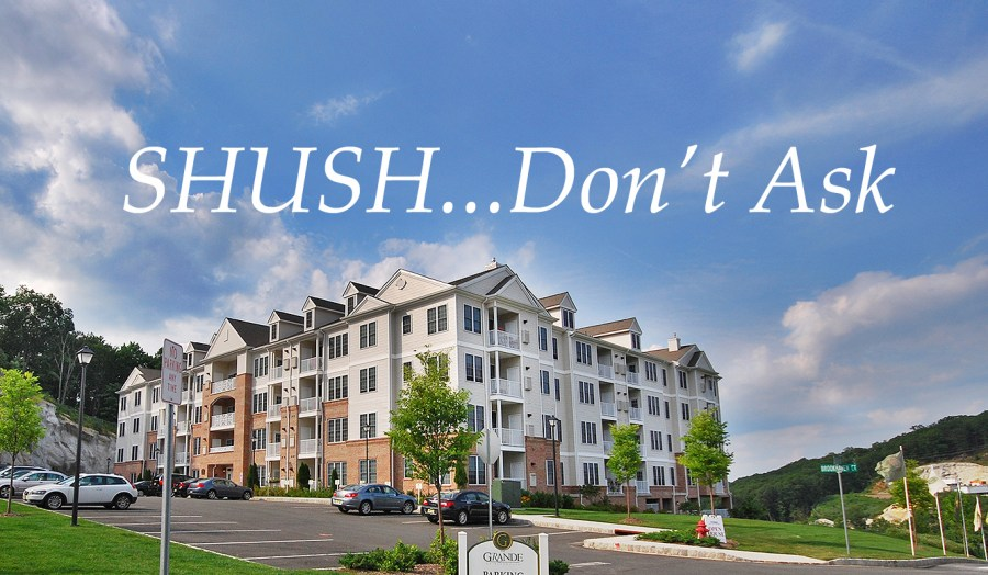 Sush..don't ask condos questions