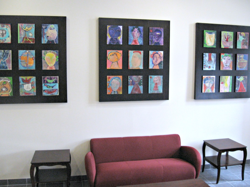 New Jersey Connect Apartments at St Elizabeth's - Lobby and Art by Arts Abound
