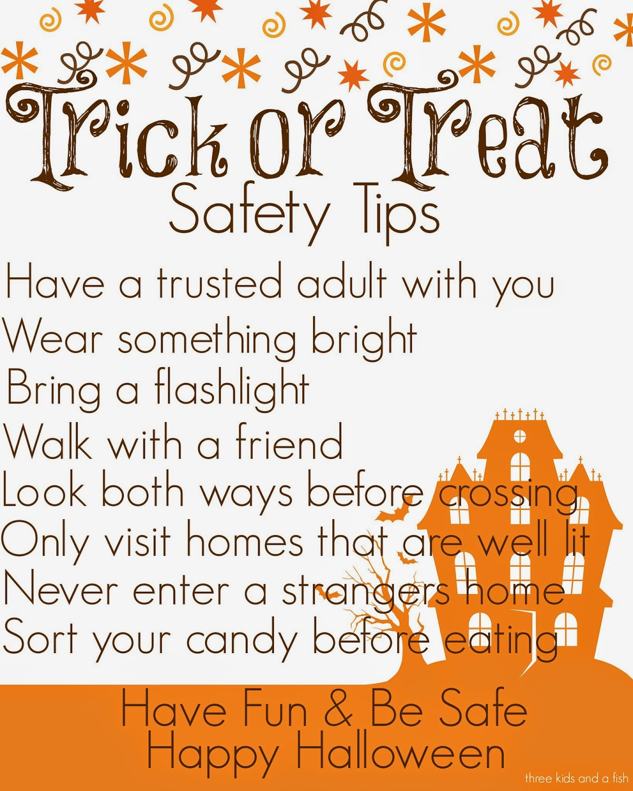 Halloween Safety And Fun