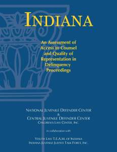 Indiana Assessment Cover Page