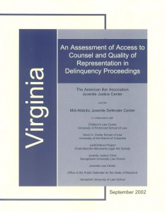 Virginia Assessment Cover Page