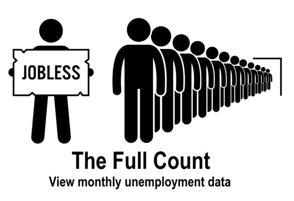 The Full Umemployment Count: View Monthly Unemployment Data