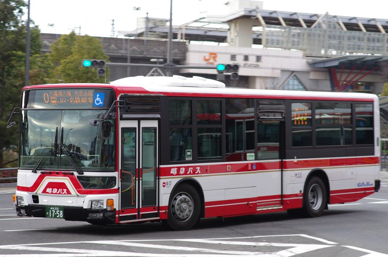 JR岐阜にて 2016.2
