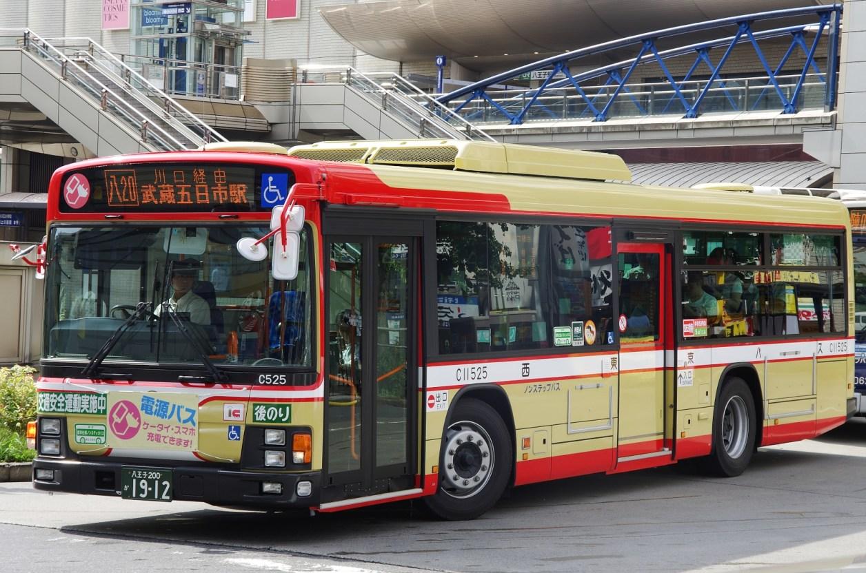 八王子駅北口にて 2015.7