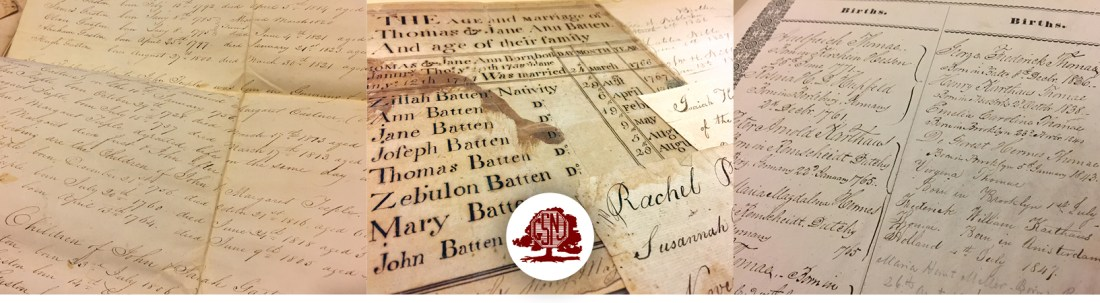 GSNJ Bible and Family Records Collection Index – GSNJ