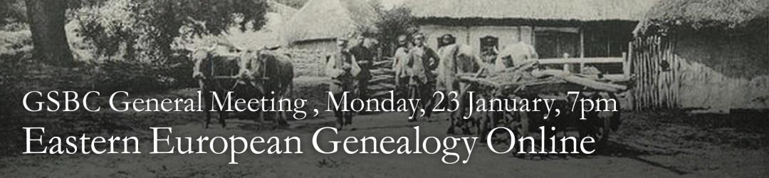 Eastern European Genealogy: Discovering Online Resources @ Ridgewood Public Library | Ridgewood | New Jersey | United States