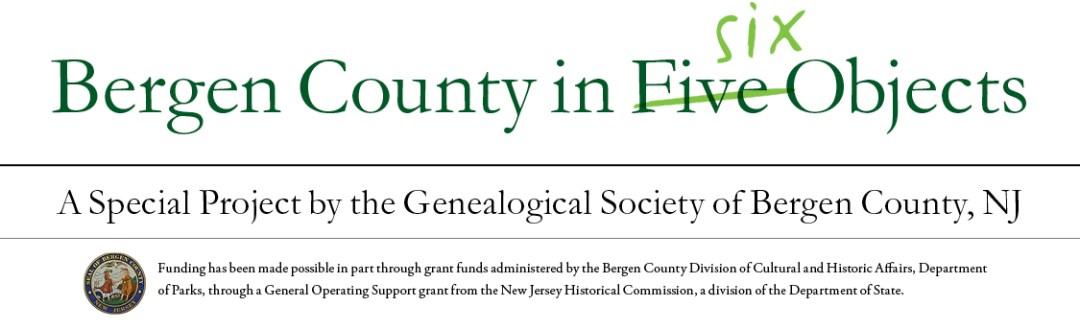 Bergen County in Six Objects