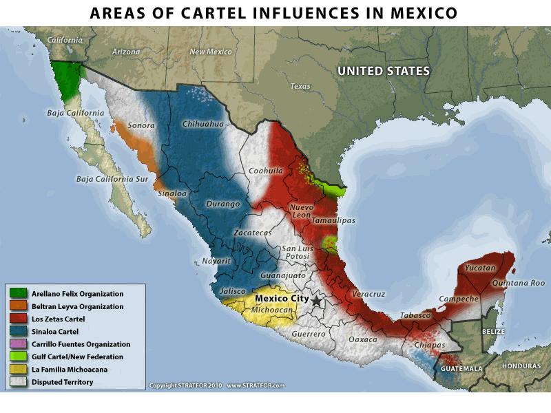 Mexican Drug War – The Vector
