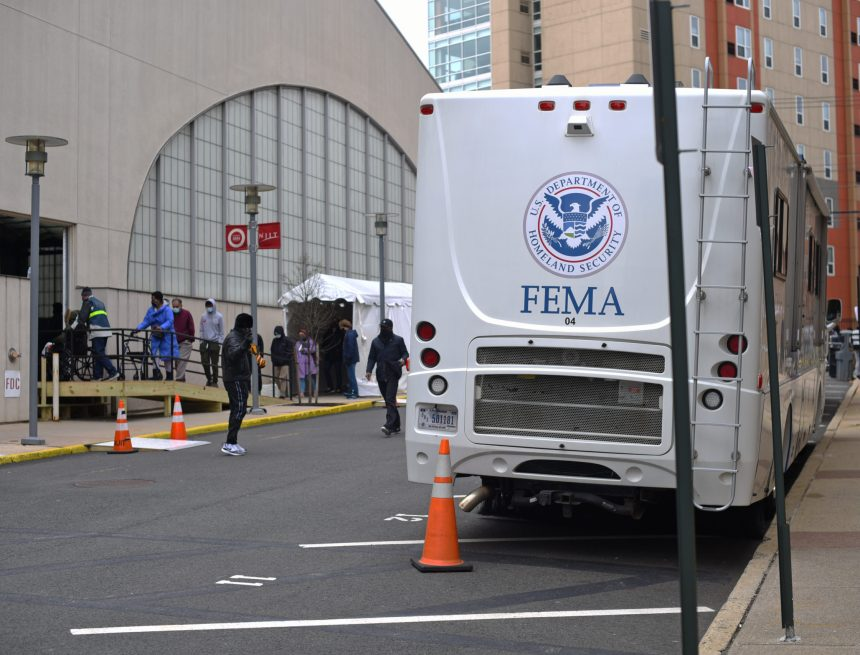 FEMA Community Vaccination Center Opens on NJIT's Campus