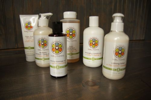 Baby Mantra offers a variety of natural skincare products for infants to 8 year olds.