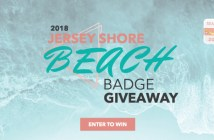 jersey shore beach badge giveaway