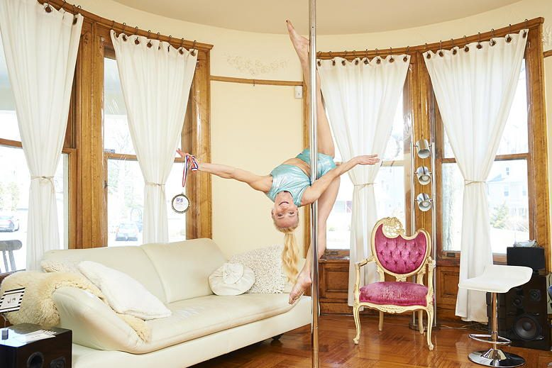 Meet the Pole Dancer Down the Street | New Jersey Monthly