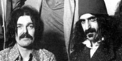 Captain Beefheart and Frank Zappa, giving your Indie musicians a run for their money
