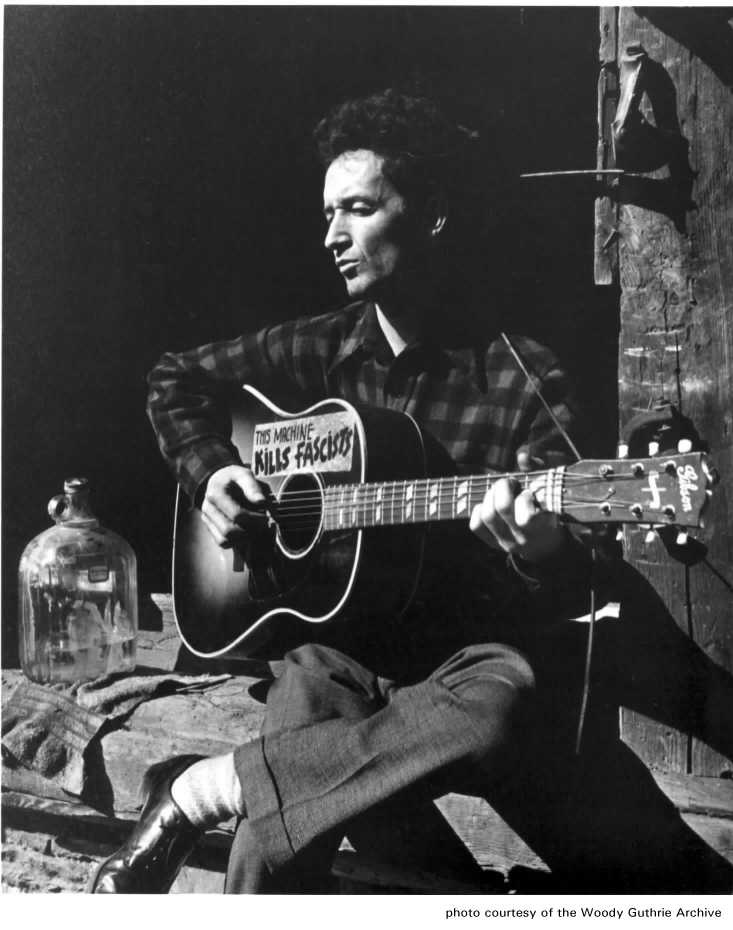 woody guthrie life in the 1930s essay The songs of woody guthrie stand as excellent examples of this process guthrie was born in 1912 in the town of okemah, oklahoma his early life was marked by a series of personal tragedies which drove him to live a life on the road.