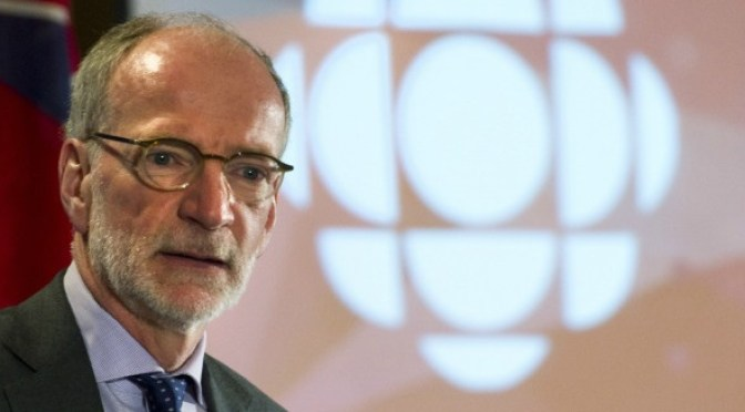 Hubert Lacroix, President and CEO of CBC/Radio-Canada (Photo THE CANADIAN PRESS/Nathan Denette)