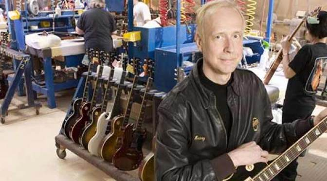 Gibson Guitar Ceo Henry Juszkiewicz Motor Trend