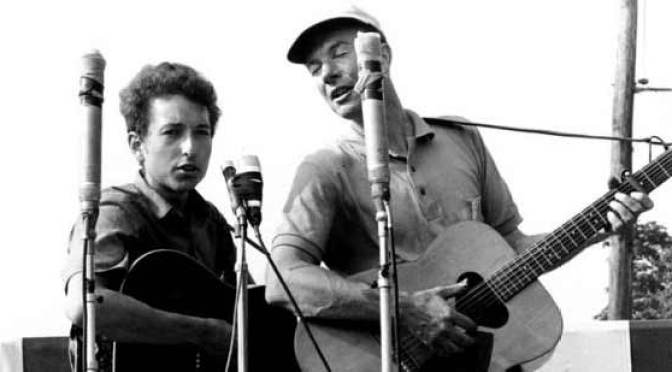 The Power of Song - Bob Dylan and Pete Seeger
