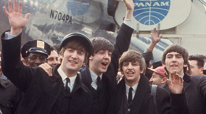 The Beatles arrive in New York City February 7, 1964
