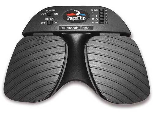 Roll over image to zoom in PageFlip Cicada Bluetooth Pedal Automatic Page Turner