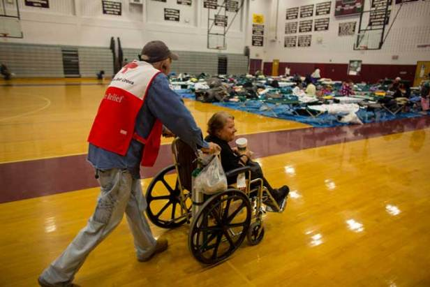 Red Cross response to Hurricane Sandy (Photo New Mobility)