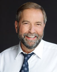 Honorable Thomas Mulcair, Leader of Her Majesty's Loyal Opposition (photo NDP)